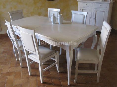 tavolo provenzale bianco tavolo provenzale artigianarte