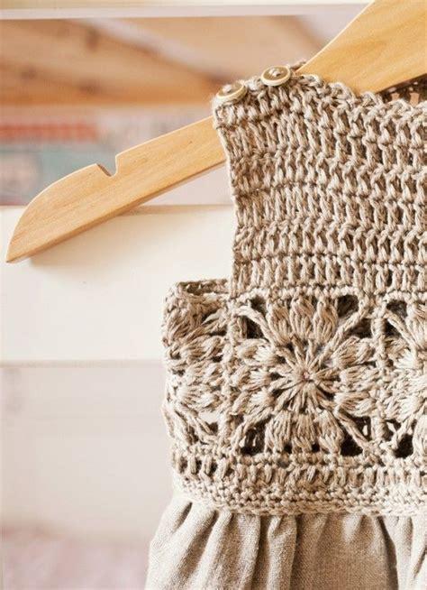 Ef Vialin Dress free square crochet fabric dress pattern by mon