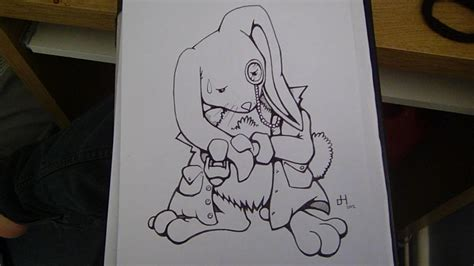In White Rabbit Drawing