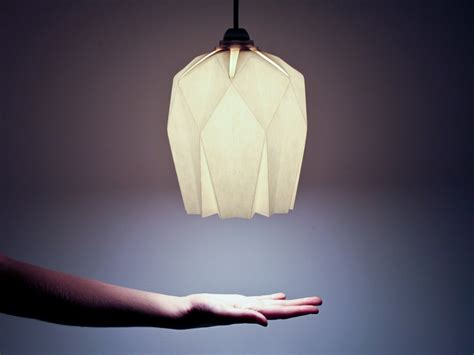 Rock Origami - luminaire origami rock par inoow design journal du design