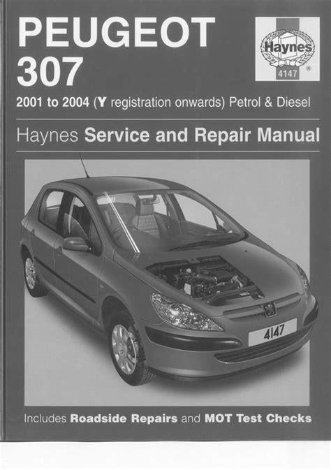 Peugeot Owners Manual Peugeot 307 Petrol Diesel Hdi Service Repair Workshop