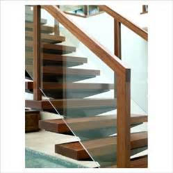 New Banister Cost Gap Interiors Detail Of Modern Wooden And Glass