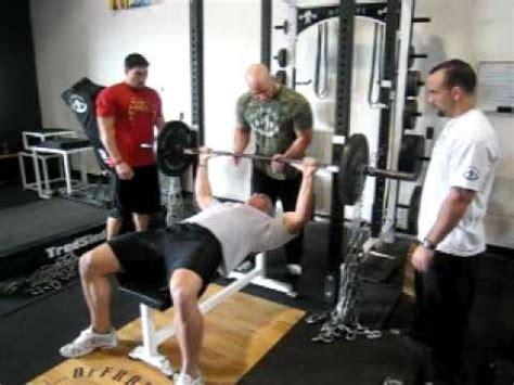 bench press death defrancostraining com cushing killin chain bench triceps
