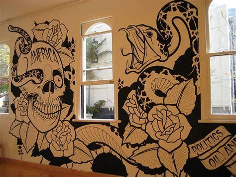 amazing tattoo style wall sticker wallz tattoo shop