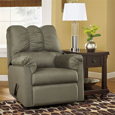 Modern Leather Armchair Design Ideas Furniture Excellent Gray Leather Modern Recliners And Side Table With Table L Plus Brown