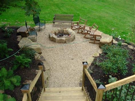 pea gravel patio cost backyard inspo pea