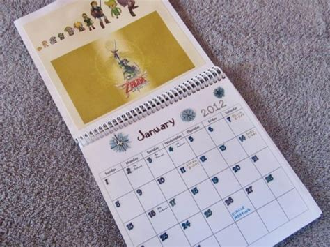 How To Make Handmade Calendar - green gift how to make a personalized recycled
