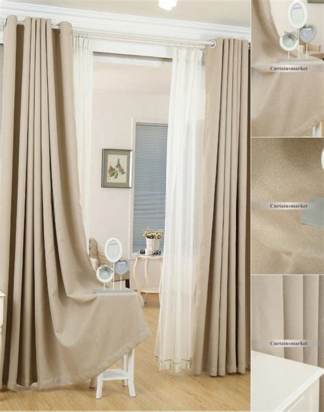 cream colored blackout curtains inspirational blackout linen curtains linen sale can meet