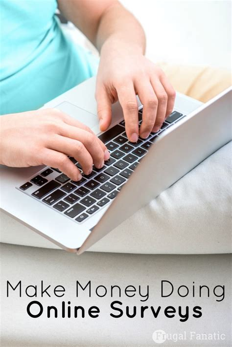 Online Survey To Make Money - make money doing online surveys frugal fanatic