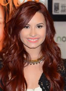demi hair color for americans demi lovato red hair long hairstyles women hairstyles