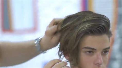 luca fersko hairstyle luca fersko haircut feat hanz de fuko thesalonguy youtube