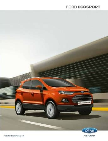 ford market price ford ecosport prices announced starts at rs 5 59 lakhs