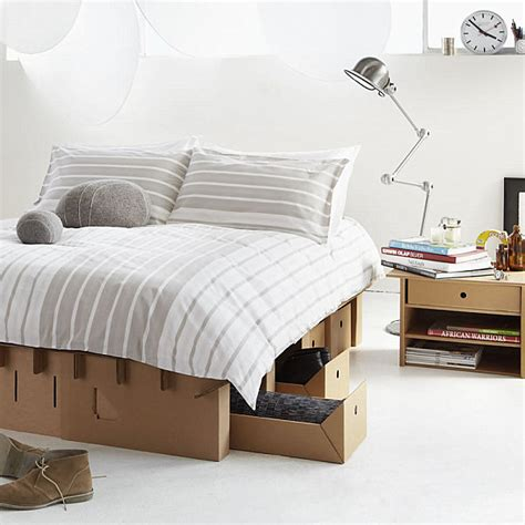 cardboard bed creative cardboard furniture ideas