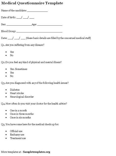 website templates for questionnaires website questionnaire template website design