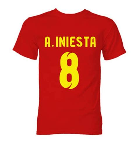 barcelona andres iniesta t shirt for only 163 14