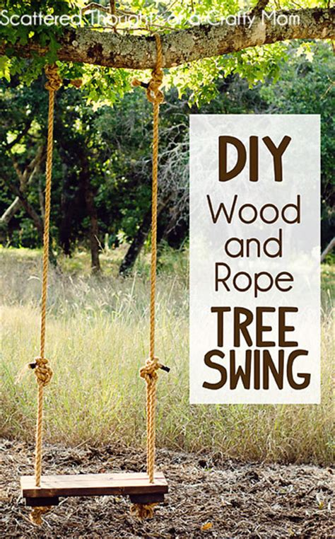 how to put a swing in a tree 10 fall ideas the d i y dreamer