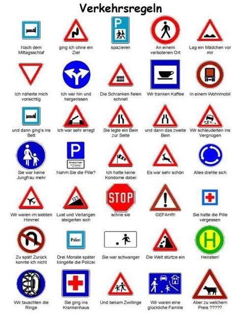 printable french road signs top 83 ideas about german modal verben on pinterest