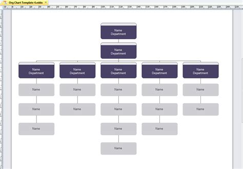 organization structure chart template beautiful org chart templates editable and free org