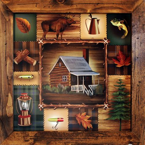 cabin bedding lodge decor cabin decor 21x21 cabin wall by rusticprimitivesetc