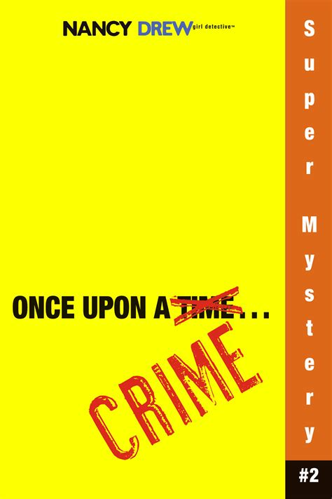 once upon a books once upon a crime book by carolyn keene official
