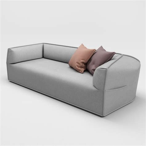 Moroso Massas Sofa 3d Model