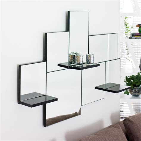 Mirror With Shelf by Shelf Mirror Dwell