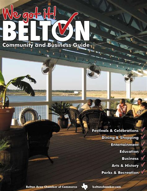 Umhb Mba by Belton Area Chamber Of Commerce Community And Business