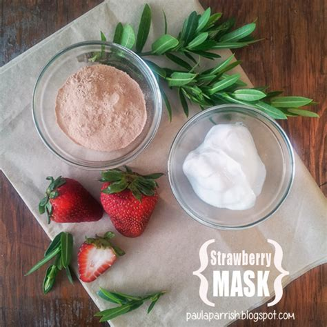 diy strawberry mask paula parrish home remedies for age spots