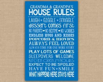 grandparents house rules 9 best images of grandparents house rules printable sign grandma s house rules