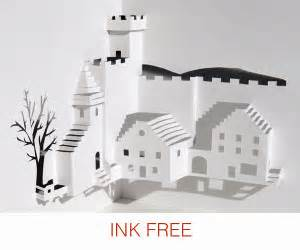 Pop Up Building Template by Make Pop Up Cards Pop Up Paper House Paper Toys Diy