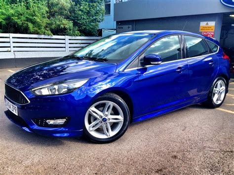 ford focus blue ford focus 1 0 zetec s 5dr 6spd 125ps in blue 2015 for