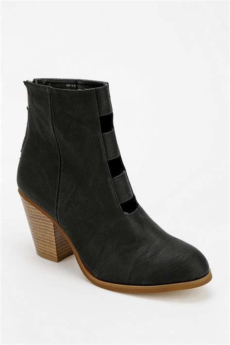 outfitters boots outfitters kimchi blue frontcutout ankle boot in