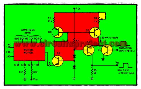 programmable pulse generator circuit diagram electronic