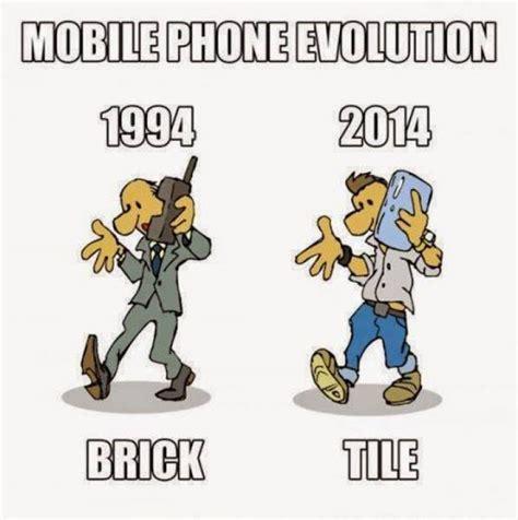 Mobile Memes - mobile phone evolution