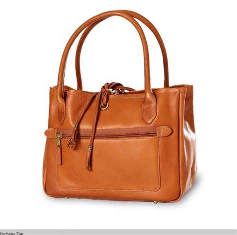 monogrammed leather tassel handbag