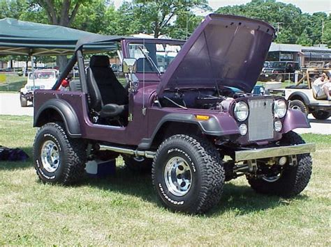 purple jeep liberty pa jeeps all breeds jeep show 2001 jeepfan com