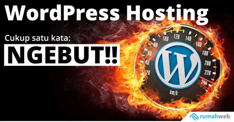 wordpress hosting  rumahweb indonesia