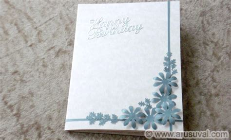 how to make a easy card how to make simple birthday card easy diy craft projects