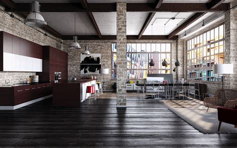 industrial lofts industrial loft on behance