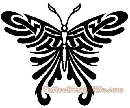 tribal tattoos butterflies tattoos tribals for