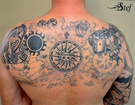 one piece tattoo 35 awesome one tattoos for the straw hat