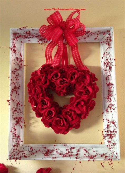 valentines home decor 40 hot red valentine home d 233 cor ideas digsdigs