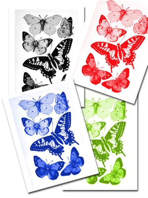 Decoupage Images Free - basic butterflies my kid craft