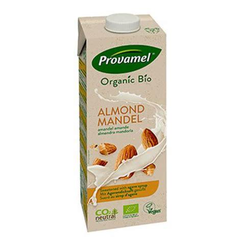 Monchan Almond Milk Almond Vanilla 250ml organic almond milk in 250ml from provamel