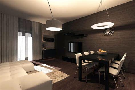 illuminazione cucina soggiorno progetto di interni appartamento idee ristrutturazione casa