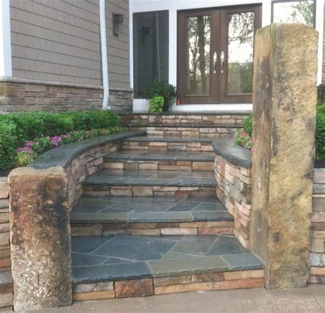 stone entry steps