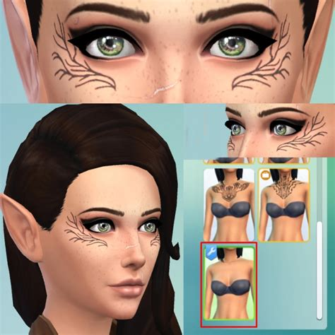 dalish tattoos sims 4 tattoos downloads 187 sims 4 updates 187 page 2 of 39