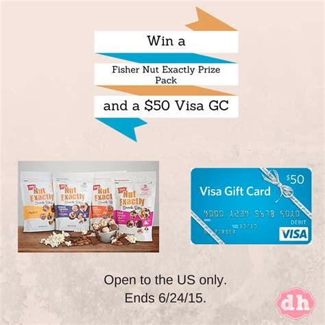 Best Place To Get Visa Gift Cards - fisher nut exactly prize pack and 50 visa gift card a sweet potato pie