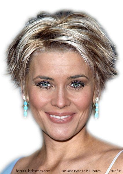 short blonde high lited hairstyles for women over 50 highlighted short hairstyles hair style and color for woman