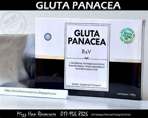 Gluta Panacea Yang Original gluta panacea original mhr stokis produk kecantikan
